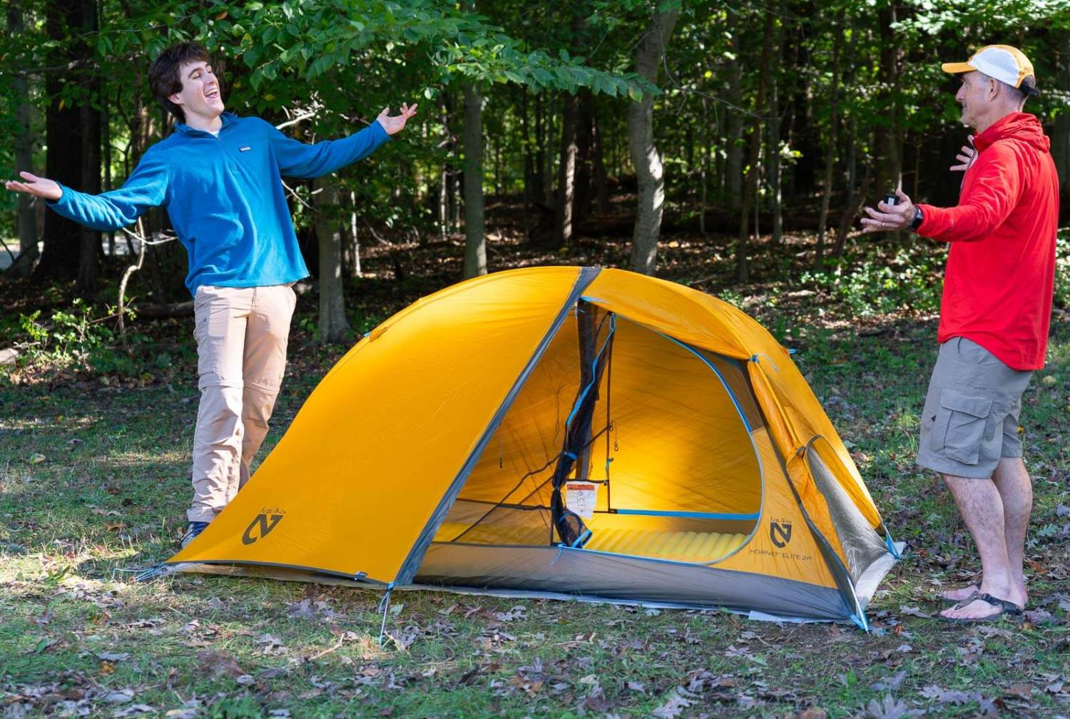 best backpacking tents - NEMO HORNET 2P Tent