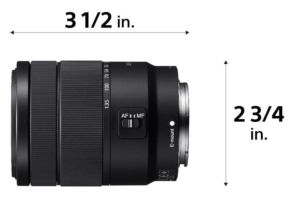 359be189c3fd Best Sony a6x00 upgrade lens at a sweet price  The Sony E 18-135mm  f 3.5-5.6 OSS (27mm to 202mm equiv.). This is a very attractive do-it-all  backpacking and ...