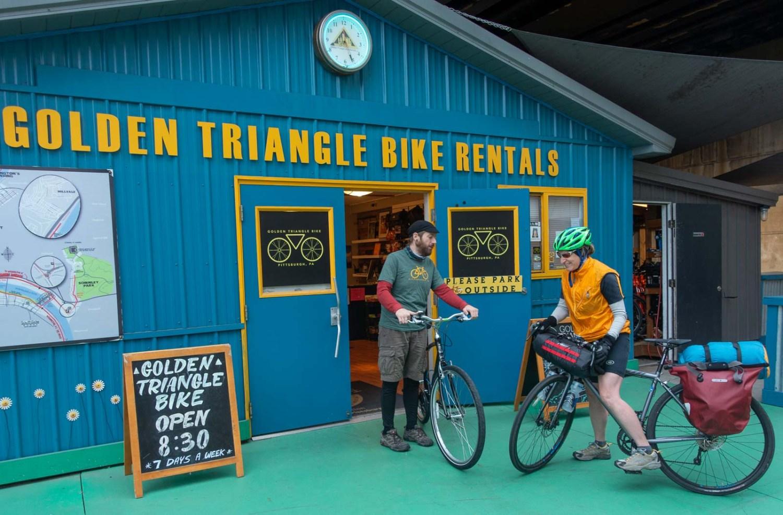 Bikepacking GAP Trail and C&O Canal