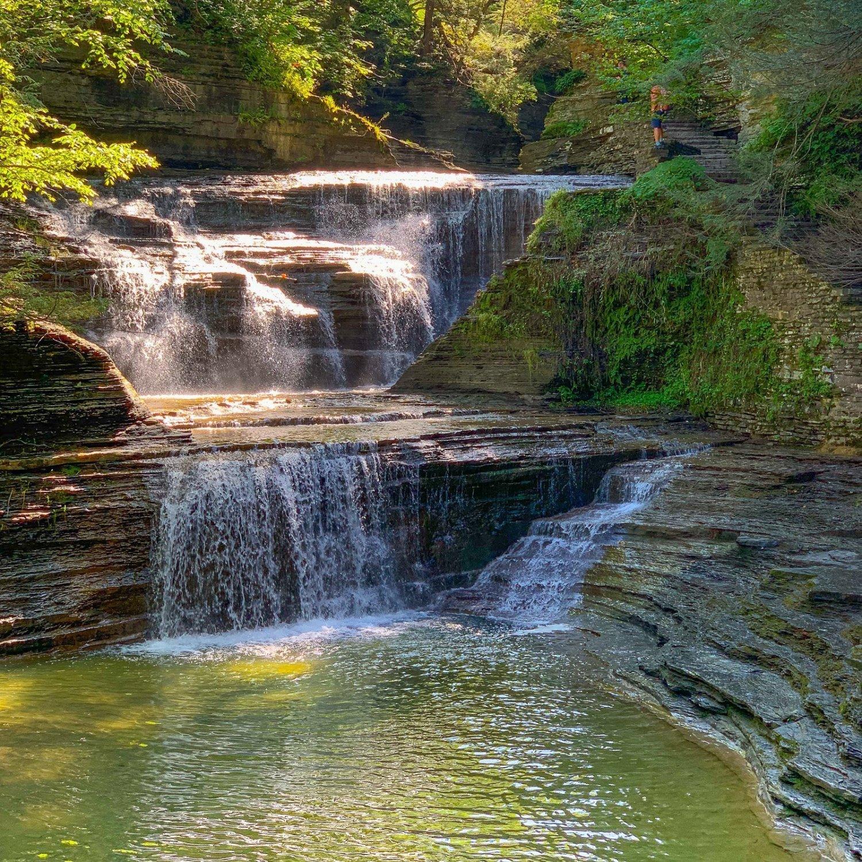 Finger Lakes Gorges - Buttermilk Falls Gorge