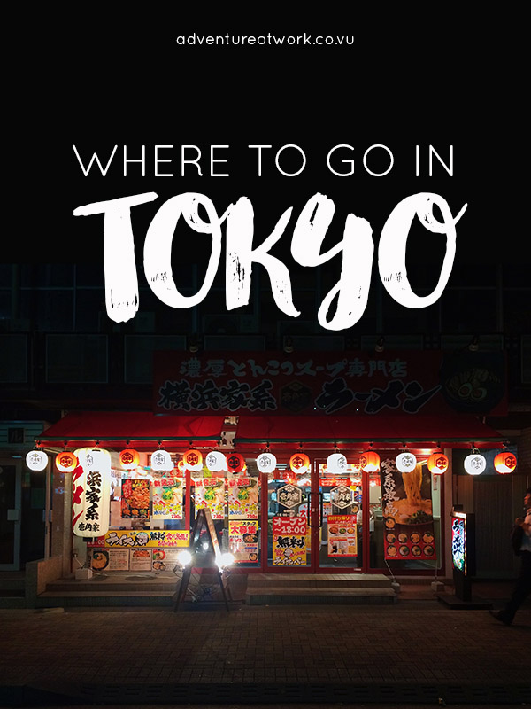 Want to visit the capital of Japan but don't have a clue where you're going? This guide will tell you exactly where to go in Tokyo!