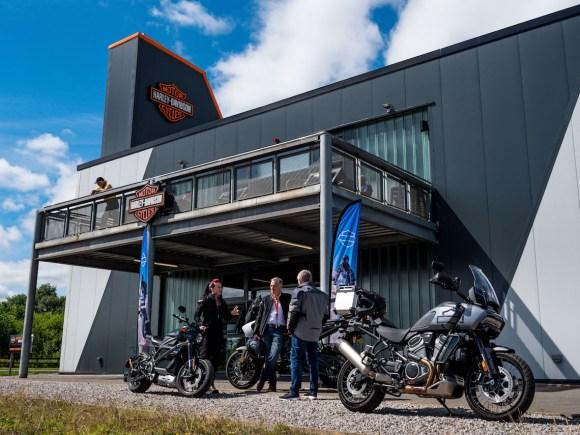 Adventure bike weekend Harley-Davidson