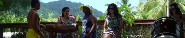 Cook islands drumming lesson