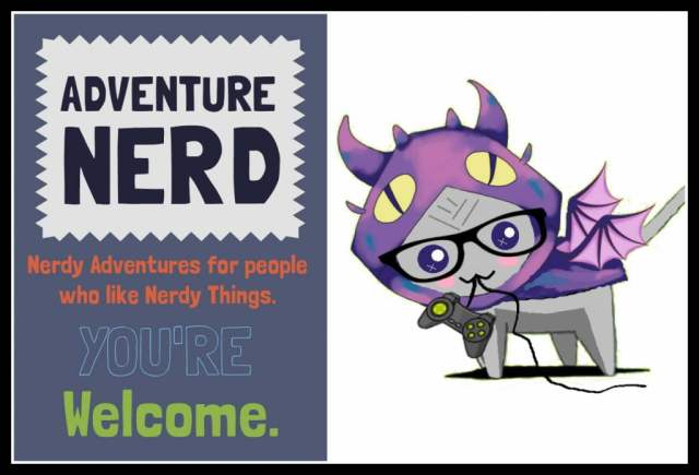 Border Adventure Nerd Graphic Sign