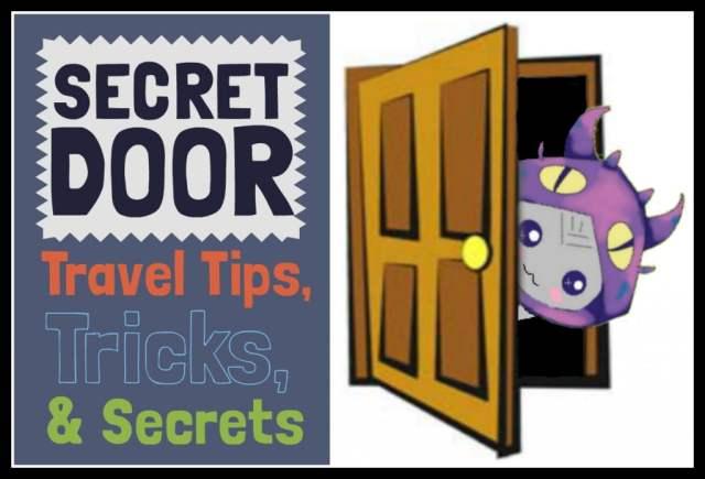 border Secret Door Graphic Sign