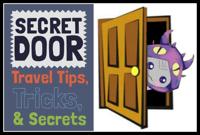 border Secret Door Graphic Sign