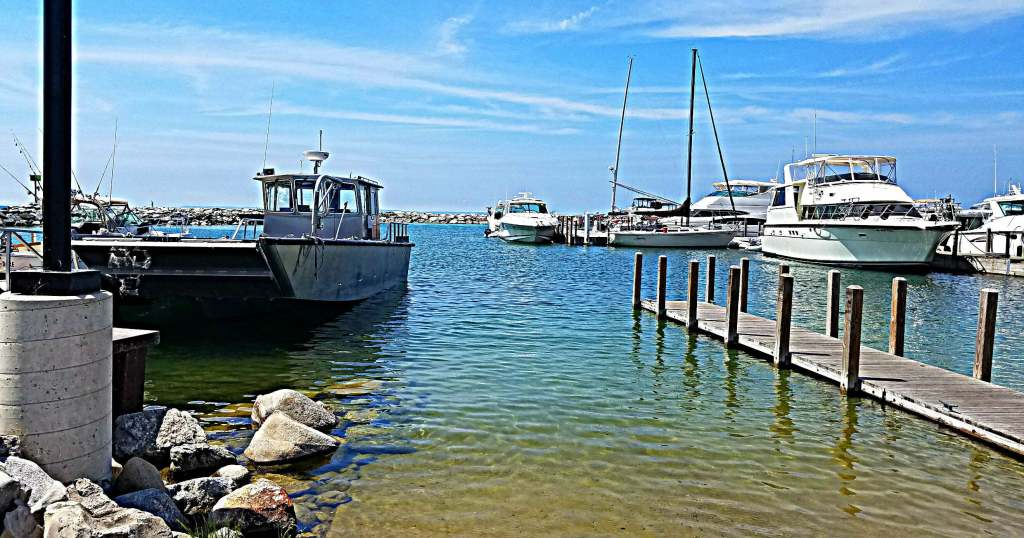 fishtown USA Leland MI past meets present