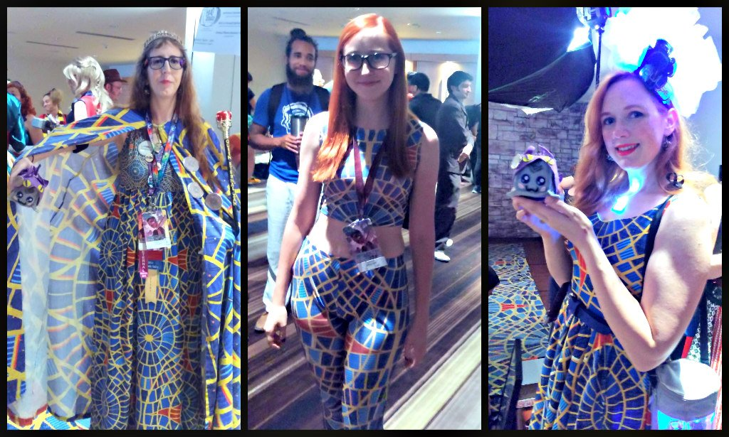DragonCon Marriott Carpet Outfits
