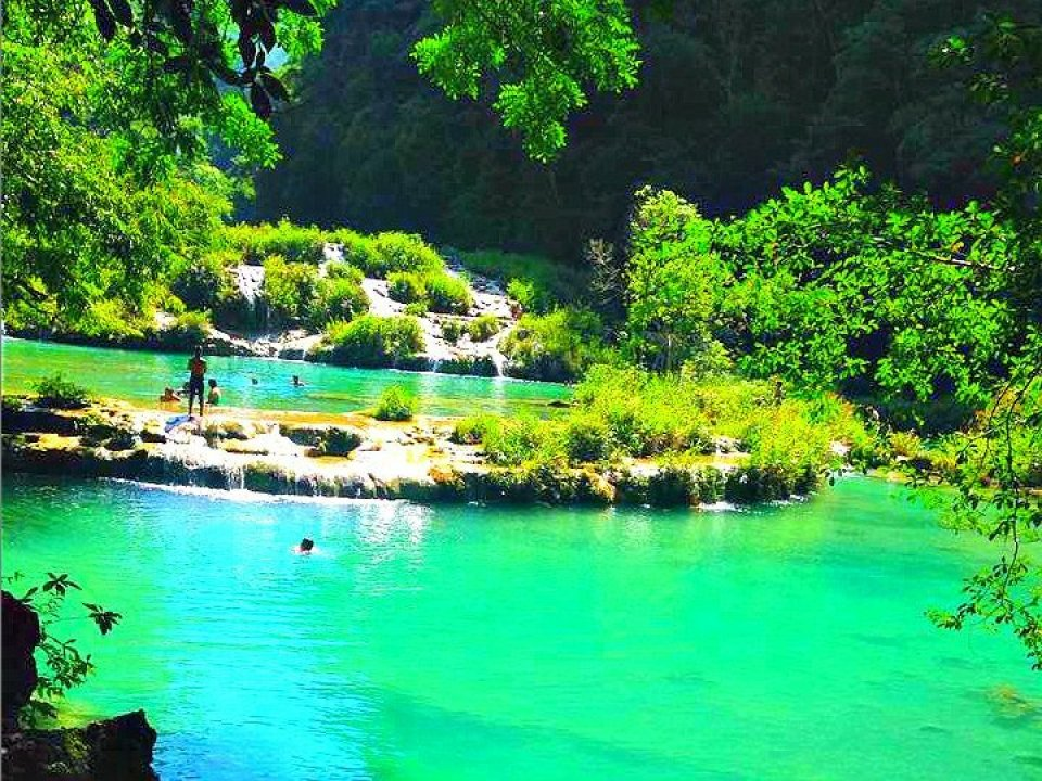 Semuc Champey Tiered Pools