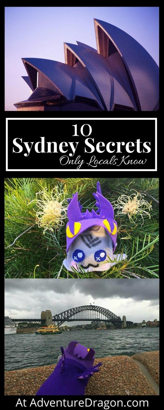 Sydney Secrets Pinterest