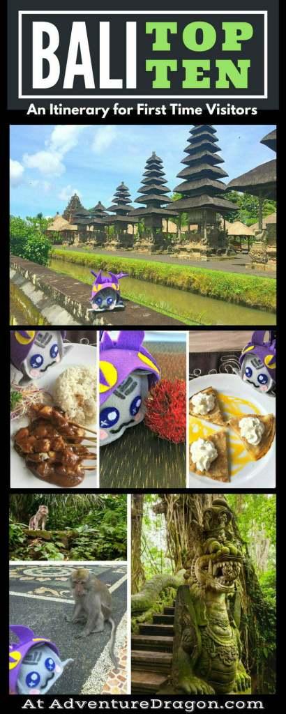 Itinerary Bali top 10