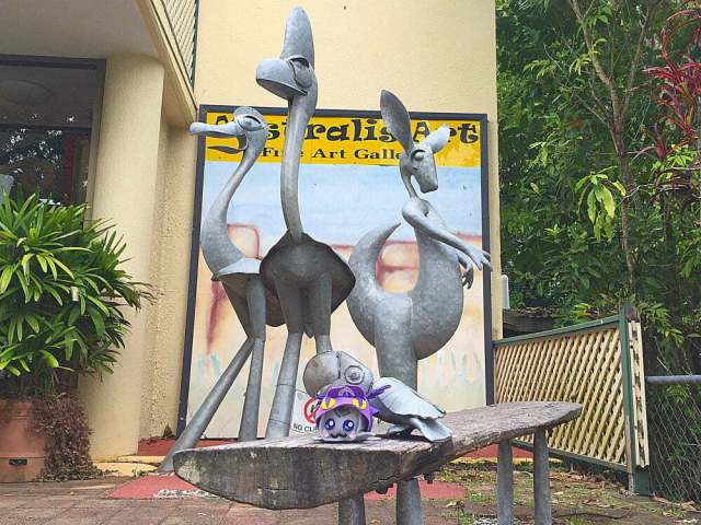 things to do in Kuranda Village in a Rainforest - Australis art gallery