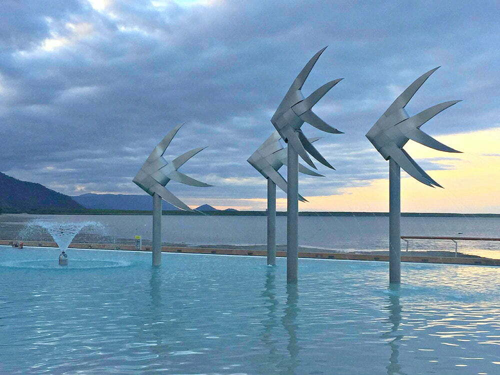 best beaches in Cairns Esplanade lagoon