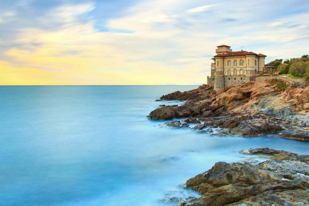 Castello del Boccale Castle Pirate Cliff Castle of Italy