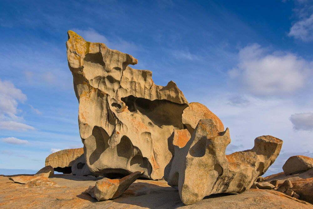 Замечательные скалы в Национальном парке Флиндерс Чейз-самые красивые места в Австралии фотографии
