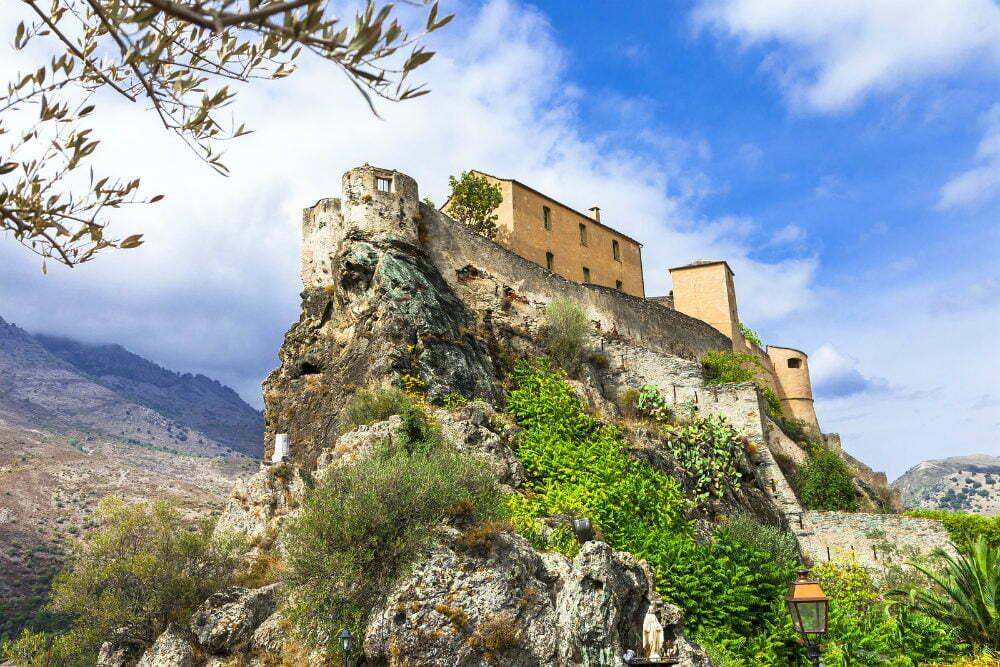 Cliffside Castle Corte Citadel France