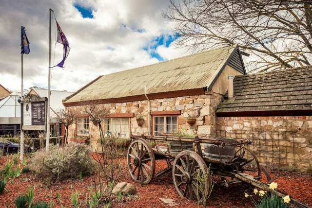 Unusual Quirky Hotels in Australia Unique Stays - Hahndorf Old Mill Hotel