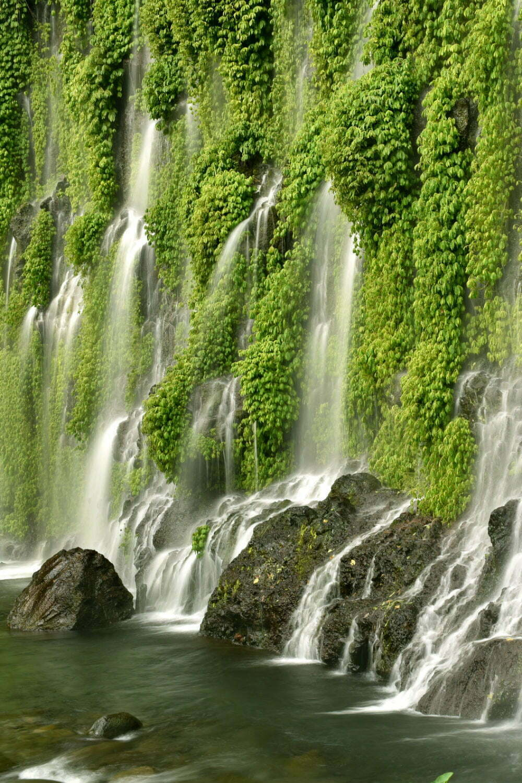Водопад асик-асик водопад Филиппины-самые красивые места на Филиппинах фотографии