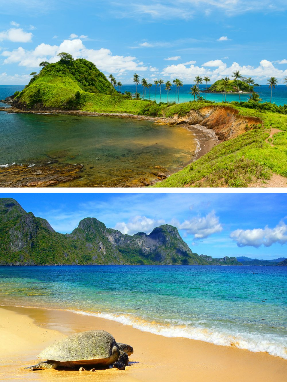Nacpan Beach in El Nido - Most Beautiful Places in the Philippines Photos