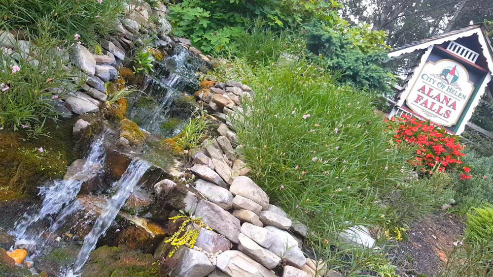 Unicoi Hill Park City of Helen Alana Falls GA