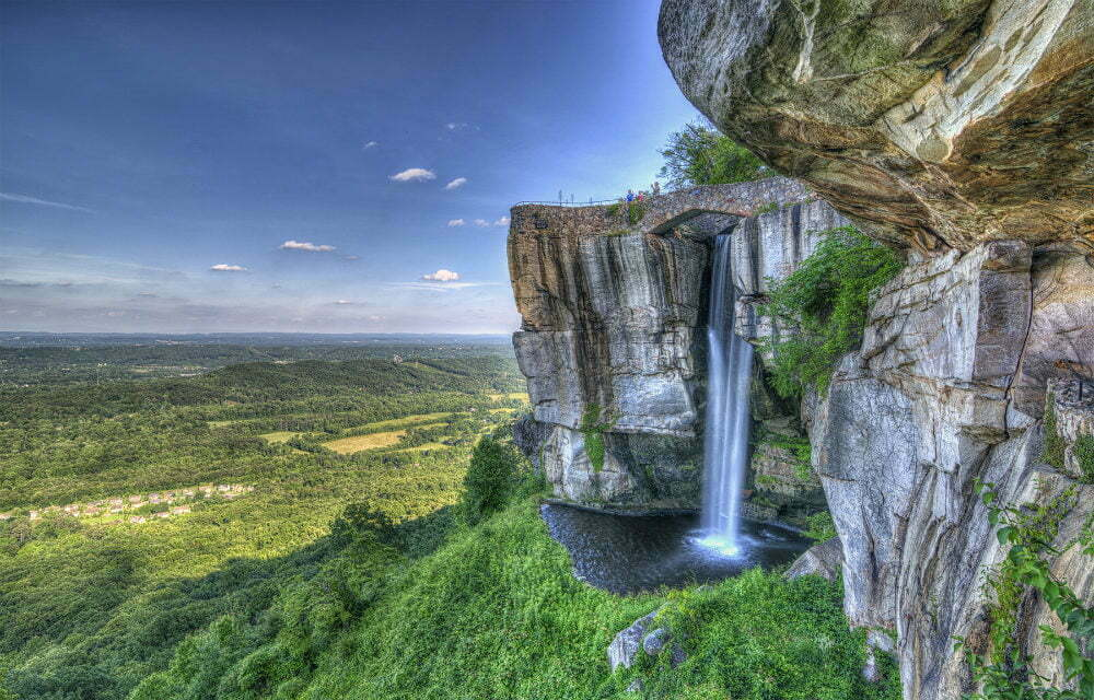 Lover's Leap Rock City Lookout Mountain GA TN