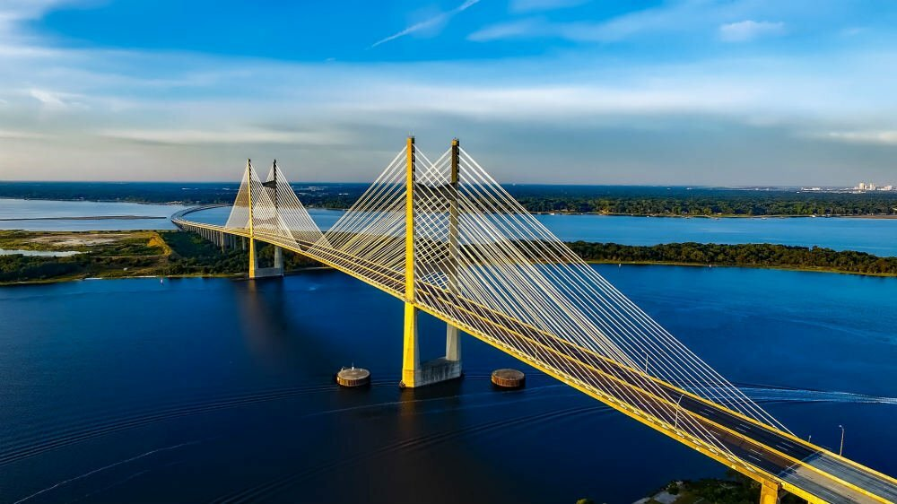 Dames Point Bridge Jacksonville FL free attractions