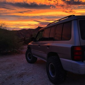 Gen 2.5 Montero at sunset