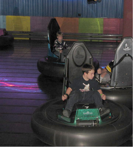 Bumper Cars In Lake George NY