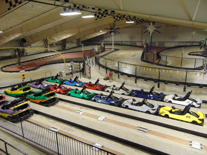 Lake George Indoor Go Carts
