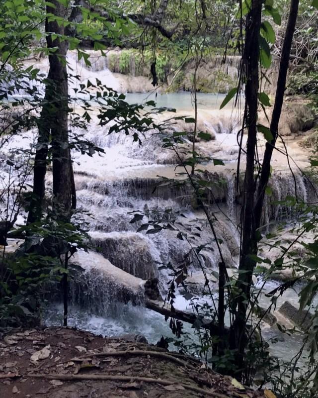Buea Mai Long Waterfall, Erawan National Park, Thailand