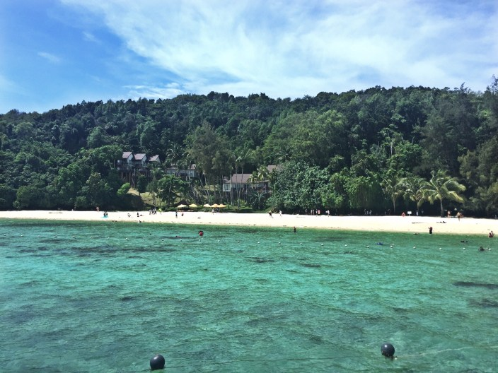 Island hopping in Sabah