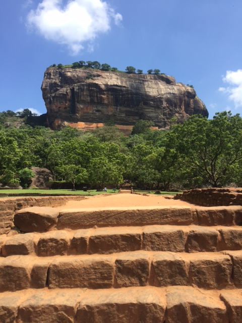 Sigiriya Sri Lanka - Lion's Rock