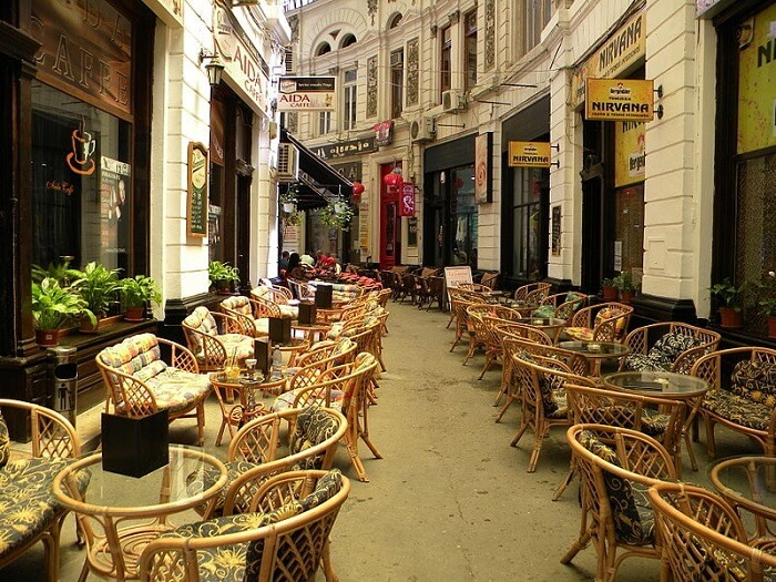 where to eat in Bucharest Romania