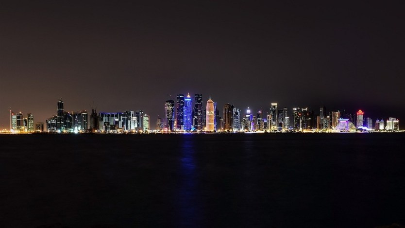 Doha Qatar city skyline