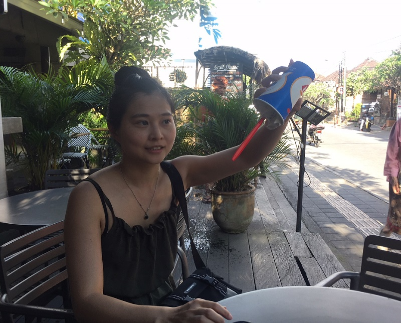 Dairy Queen Ice Cream in Bali