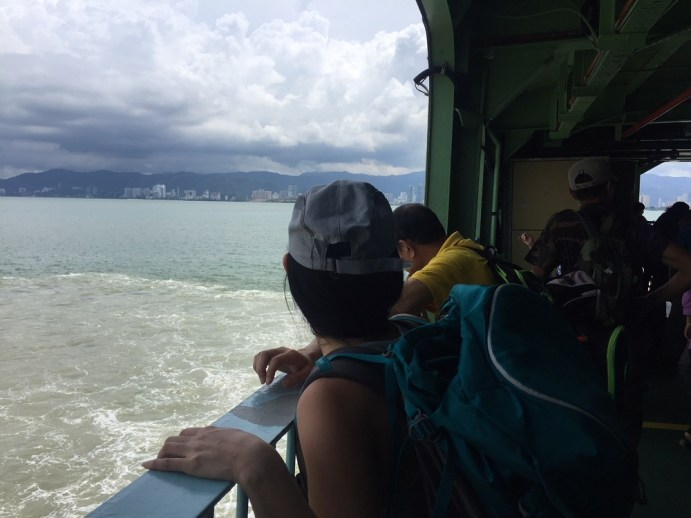Ferry from Butterworth to Penang Georgetown