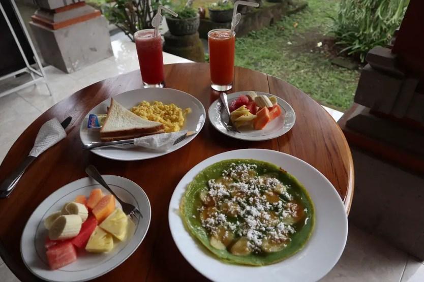 Sedana Jaya Hotel Breakfast