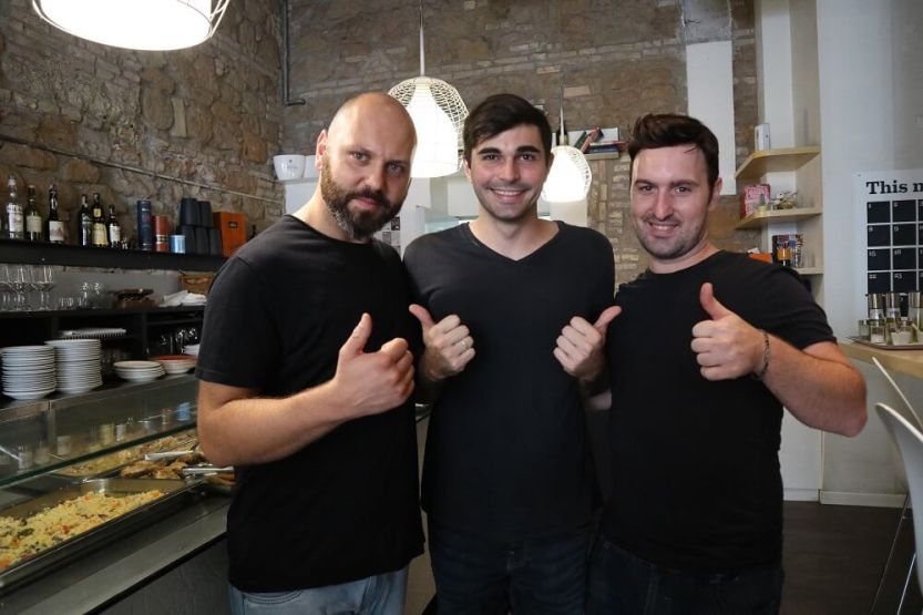 Making coffee in Rome with Triple
