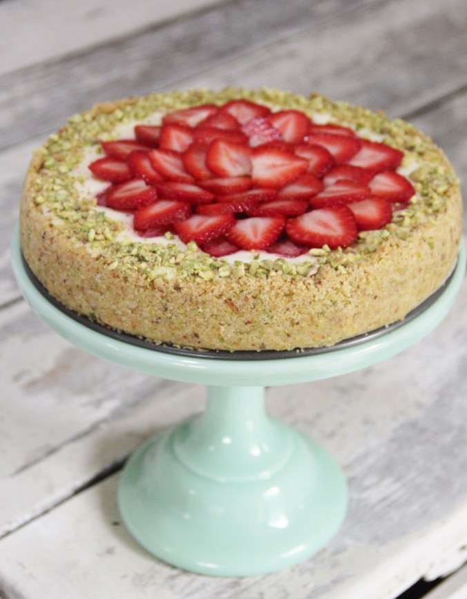 ... Cheesecake with Pistachio Shortbread Crust – Adventure. Gather. Eat