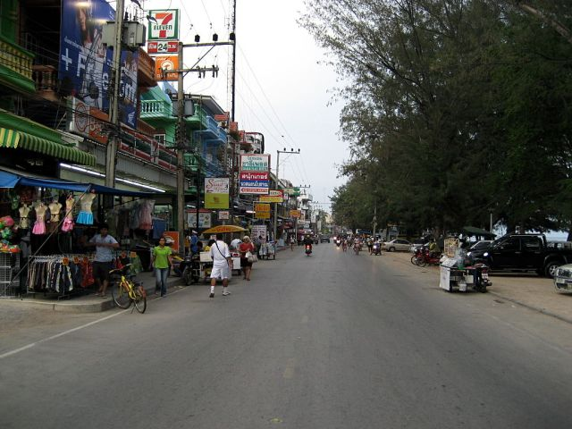 Cha-am in Phetchaburi