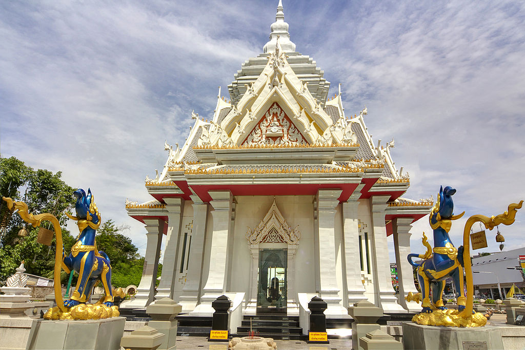 The Chao Por Lak Muang Shrine in Khon Kaen