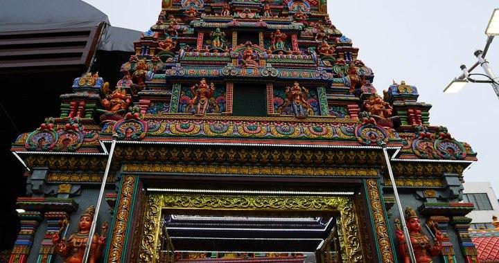 Sri Maha Mariamman Hindu Temple in Silom, Bangkok