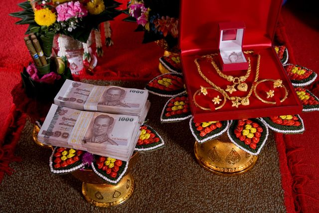 Dowry in Thailand