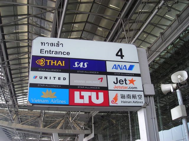 Airports of Thailand