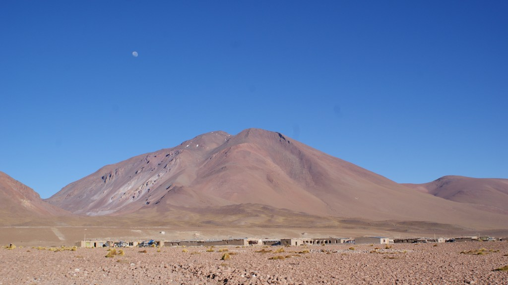 Overnight near Laguna Colorada