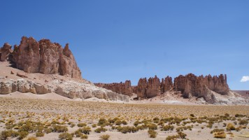 Cathedrals of Tara rock formation