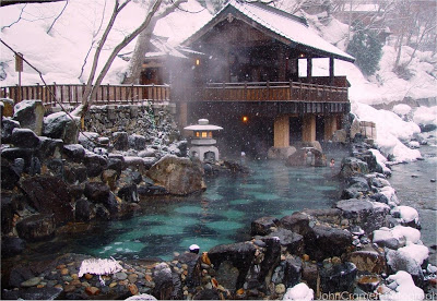 Japanese Onsen. Source: http://art-in-japan.blogspot.ca/2013/03/onsen-in-winter.html