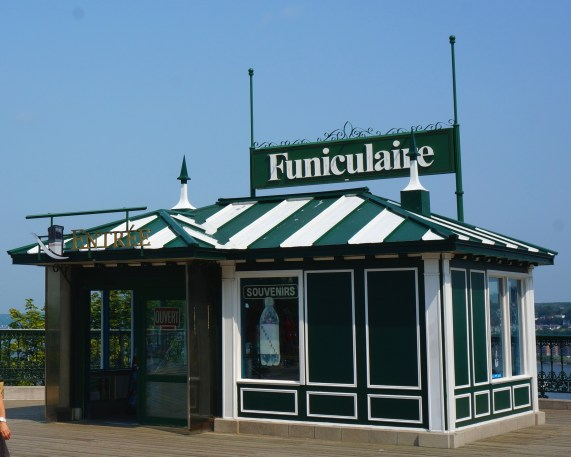 Funicular ticket booth