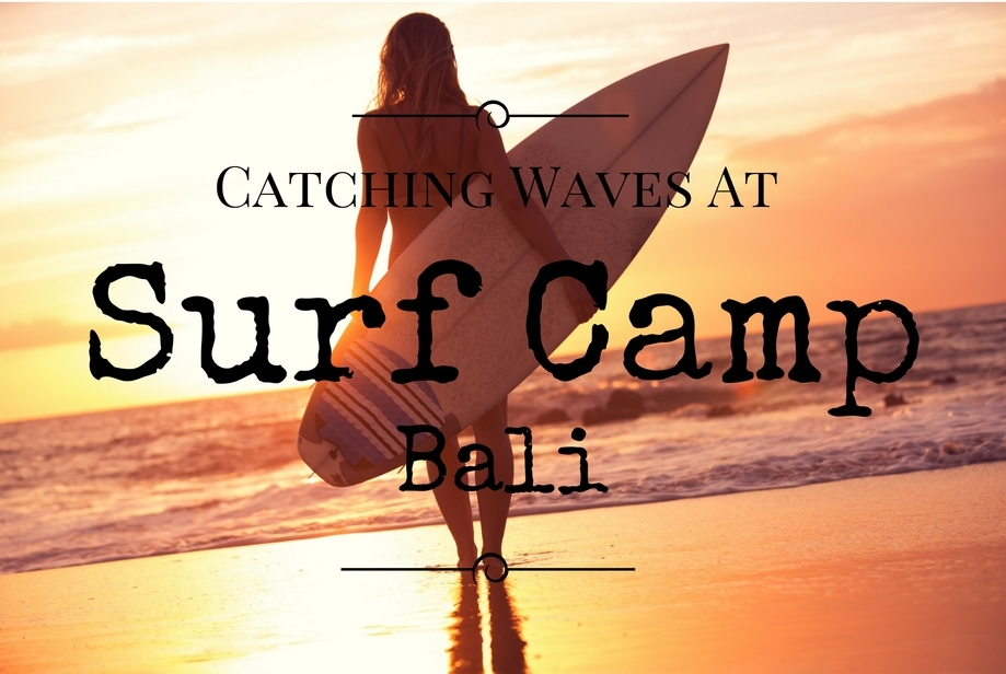Catching Waves At Surf Camp in Bali