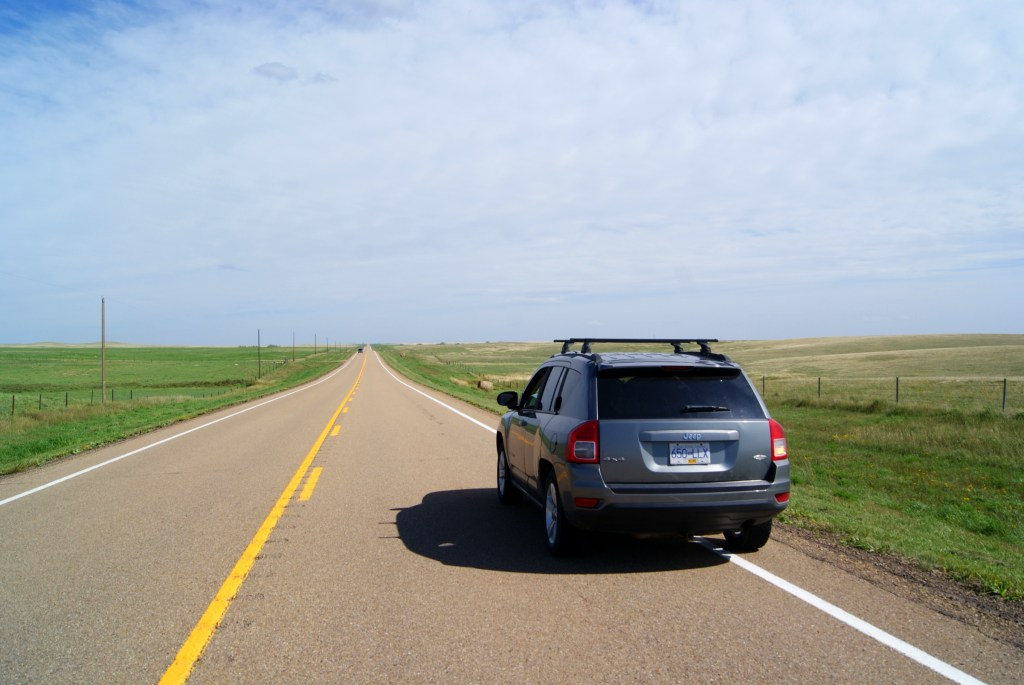 Literally in the middle of nowhere! General location is the prairies of Alberta, near Drumheller.